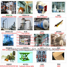 MDF board equipment/MDF manufacturing machinery/MDF producing machinery