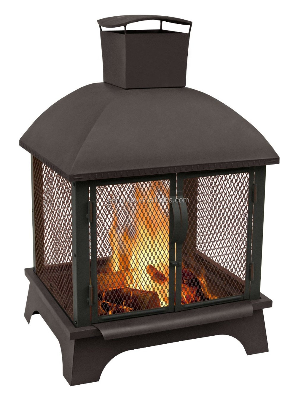 Hot sale fire chimenea, outdoor fire pit