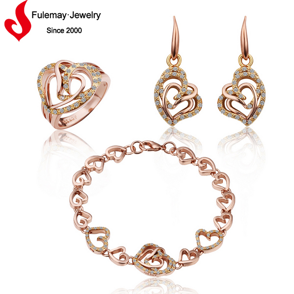 Wholesale cheap costume Cebu jewelry with gold plated