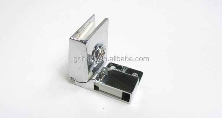 kitchen hardware satin nickel magnetic glass door hinge