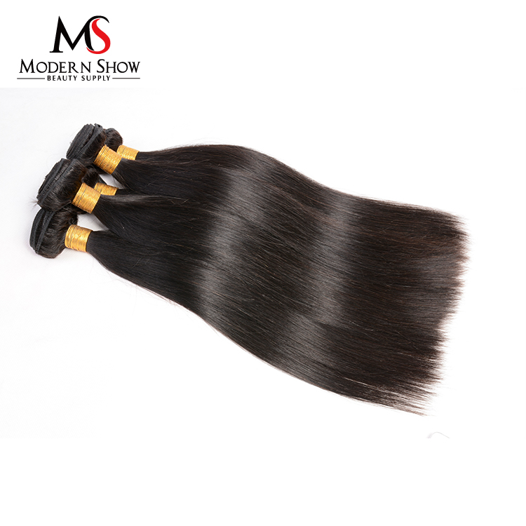 alibaba china top quality 100% virgin unprocessed peruvian straight hair extension long straight black hair