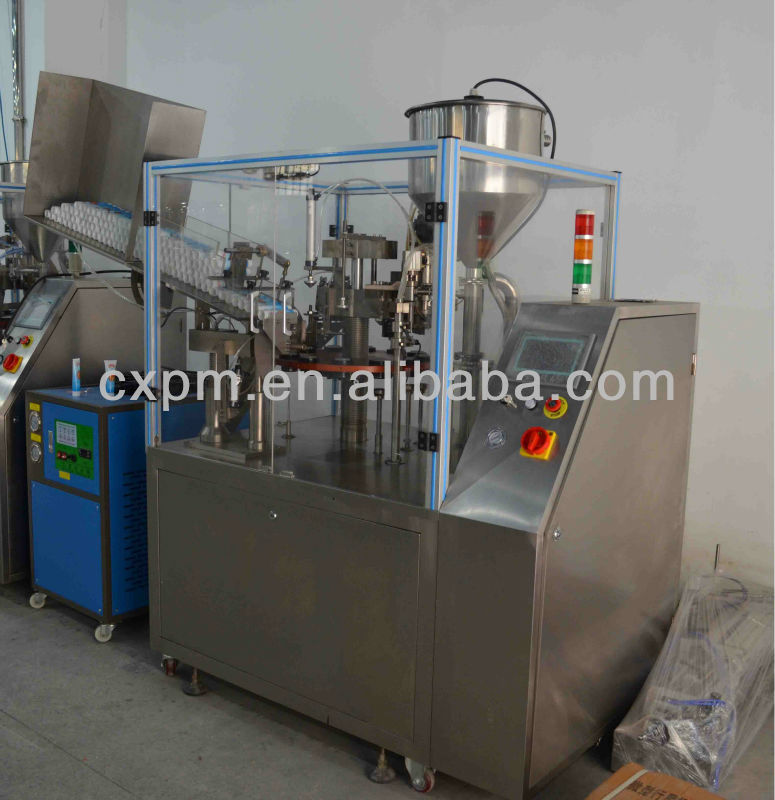 Guangzhou CX practical automatic hand cream plastic tube filler and sealer