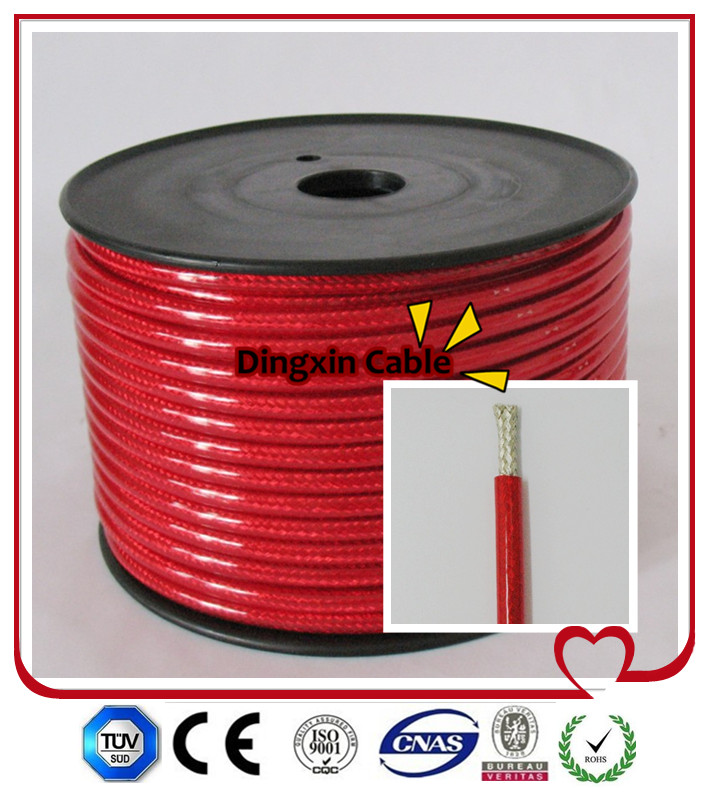 Transparenr Red High Quality OEM Battery Cable 25mm2