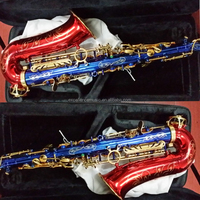 Red and blue Color Body Alto Sax/Saxophone /Sax