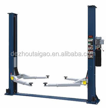 3.5ton hydraulic car lift 2 post auto lift used workshop car repair vehicle lift