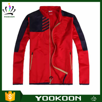 bomber jacket wholesale High Quality 100% Polyester man jacket Lightweight Windproof crane sport Jacket