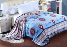 super soft wedding Raschel Bedspread blanket