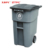 Hot Selling Good Quality 200L PP advertising outdoor trash can