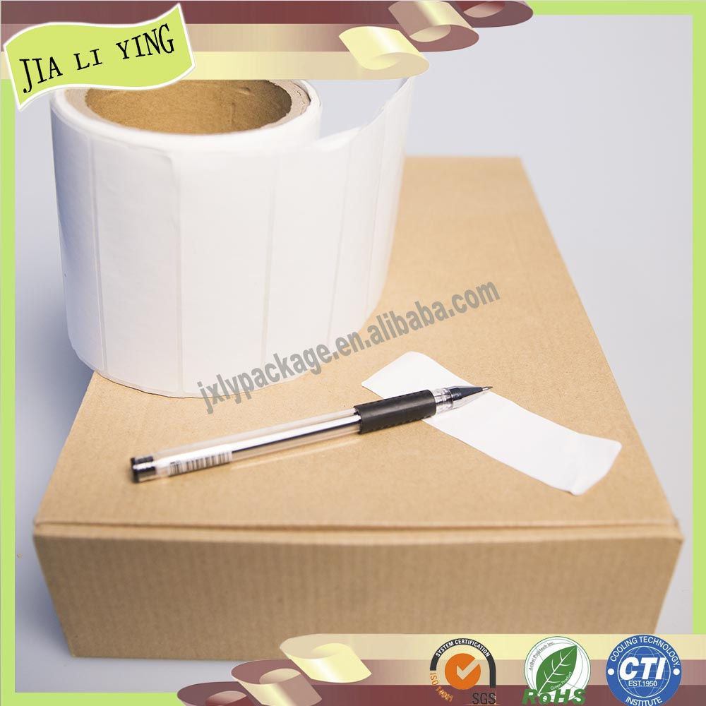 customized roll self adhesive paper sticker