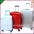 luggage set abs pc plastic material hardside luggage