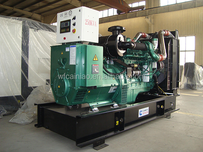 chinese manufacturer 6LTAA8.9-G2 6 cylinder water cooled 200kw power generator for sale