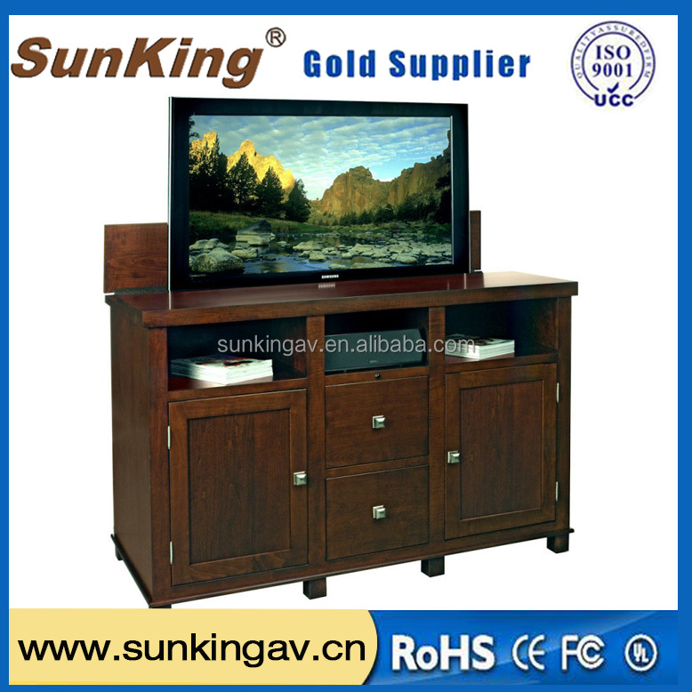 pop up tv monitor lift for home furniture Bed and TV cabinet