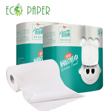 High Absorption Custom Kitchen Paper Towel Roll