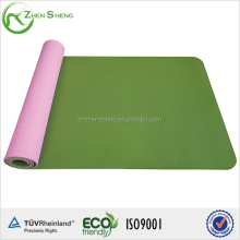 ZHENSHENG High quality eco-friend antiskid and waterproof tpe yoga mat