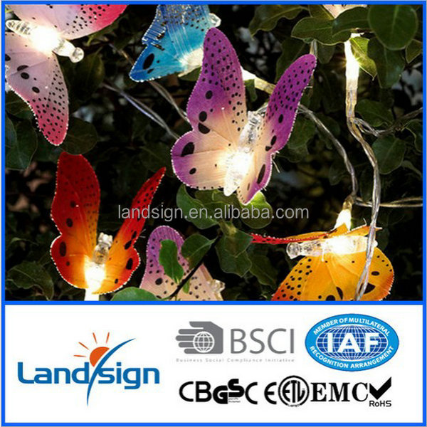 Solar Christmas lights for holiday decoration
