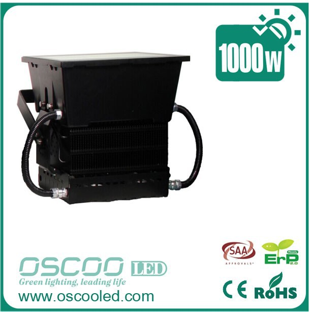 Good quality 1000 watt led flood light with Meanwell driver for square