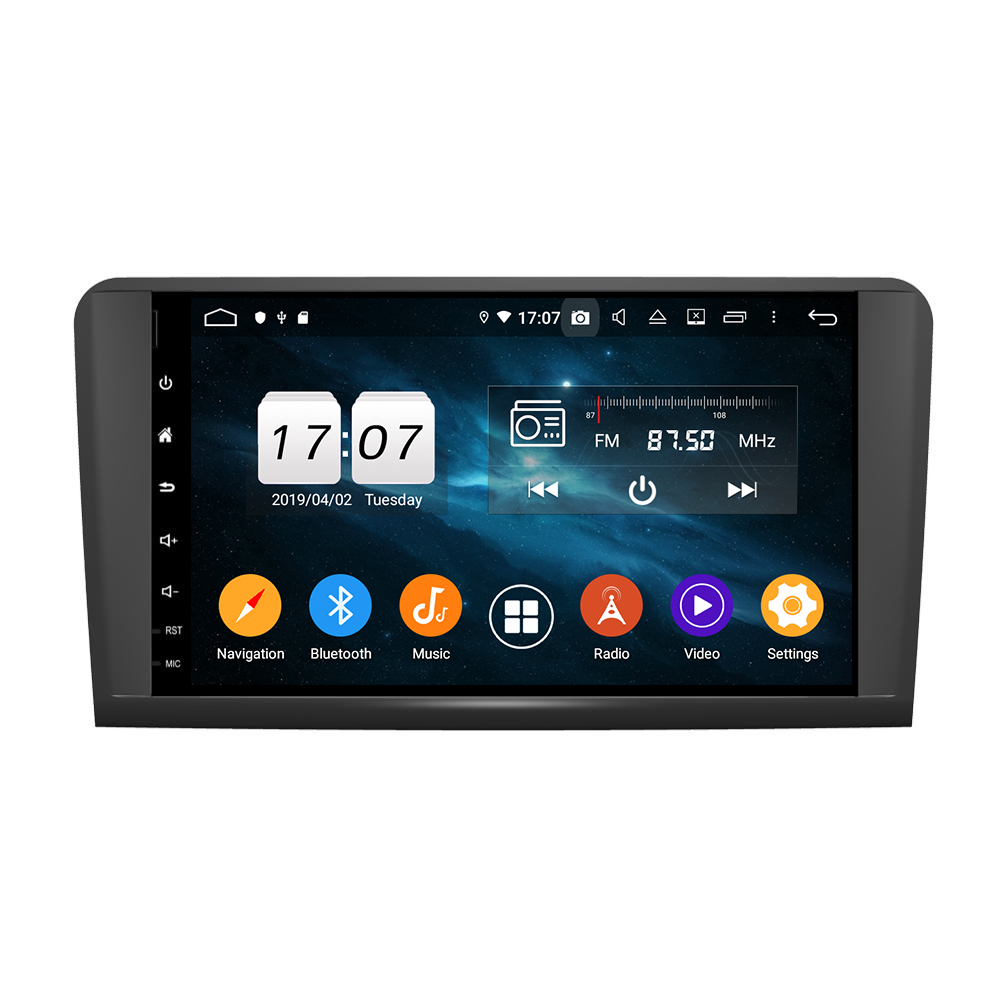 KD-9629 Octa core android 9.0 car <strong>dvd</strong> player with 9 inch touch screen for ML CLASS <strong>W164</strong> (2005-2012) (ML300,ML350,ML450, ML500)