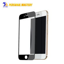 Wholesale Mobile Phone Accessories 2.5D 9H Hardness 3d Color Smart Tempered Glass Screen Protector For Iphone 5 6