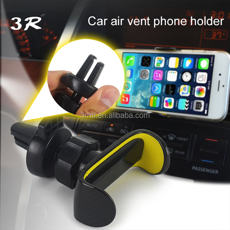 unique clip fashionable design air vent car mount phone accessories mobile holder