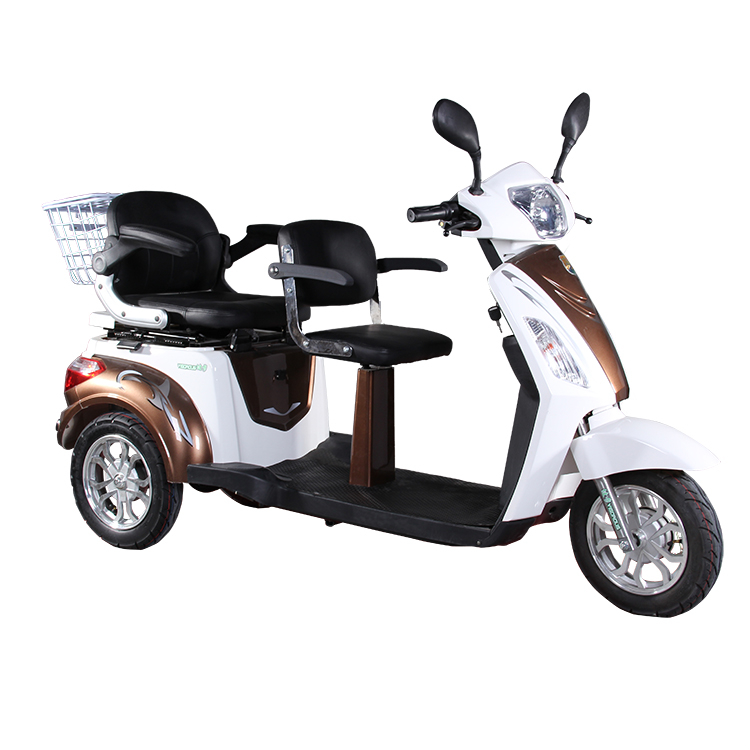 wholesale good cheap electric tricycle three wheel scooter High Quality Motorcycle 2 seat