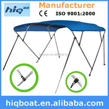 High quality Waterproof Anti-UV 4 Bow Bimini Top For Boat