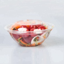 Clear Disposable Salad bowl Plastic Food <strong>Container</strong> Take away box