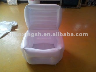 ECO-Friendly plastic inflatable custom ice bucket with cover sells very well
