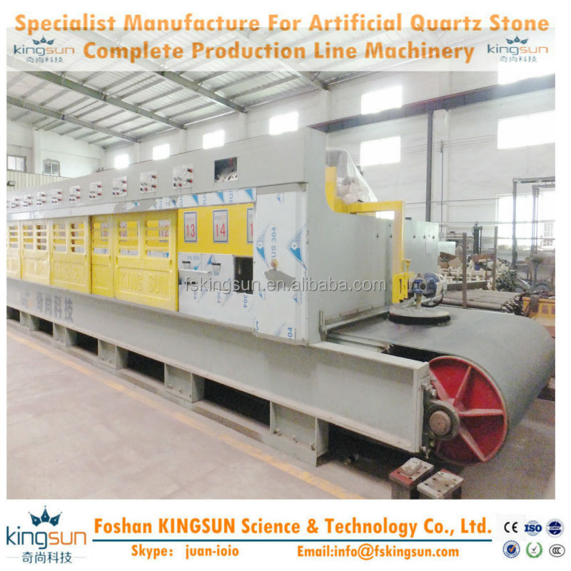 Synthetic quartz stone production line/Man-made Quartz Stone Slab Polish Machinery