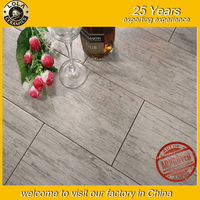 2016 new porcelain glazed wood ceramic floor and wall tiles