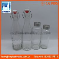 Eco-accetped Regular Bottle Mouth glass lined water bottle