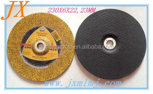 resin bonded abrasive disc type grinding wheels 9 inch for steel