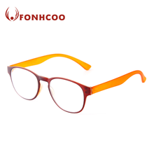 FONHCOO High Quality Custom Round Frame Plastic Reading Glasses