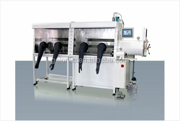 Single workstation system Glove Box Especially for Strong Corrosive Environment R & D Type-GN-GB-D1