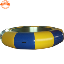 Best price water toys used sea trampoline inflatable water trampoline rental