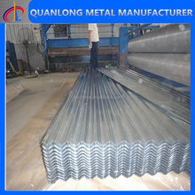 Roofing Tile Wall Panel Materials Galvanized Corrugated Steel Sheets