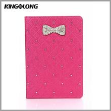 Leather Rhinestone Case for Tablet, 10 Inch Universal Tablet Case with Camera Hole for Ipad