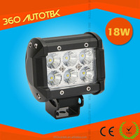"4"" 18W Marine LED Work Light semi truck led light bar"