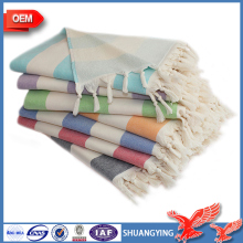 China Factory Wholesale Hot Sale Luxury 100% Cotton Fringe Rally Towel