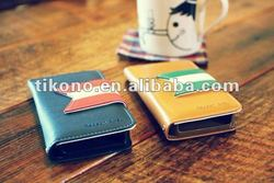new design luxury wallet PU leather case for iphone 4g 4s