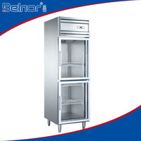 KG0.5L2/Supermarket upright manufacturer two-glass doors beverage display refrigerator