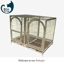 Competitive price hot sell custom logo metal cage dog kennel