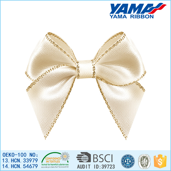 Factory direct selling no color deviation polyester bow women hair accessories