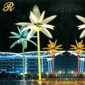 Artificial lighted palm tree led coconut tree for outdoor decoration
