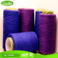 Strict QC department high tenacity cotton indigo raw material for jeans