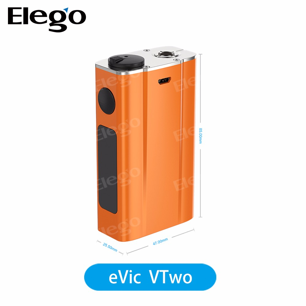 Original Joyetech eVic VTwo Mod with Real Time Clock, Upgraded Joye eVic VTwo Mod supporting Custom Logo