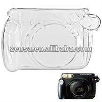 Fuji Instant 210 Film Camera Plastic Crystal Case with Strap Instax Polaroid