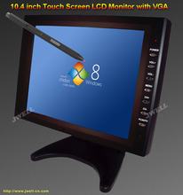 "1024 X 768 10.4"" TFT LCD Touch Screen Monitor with VGA, AV, USB input"