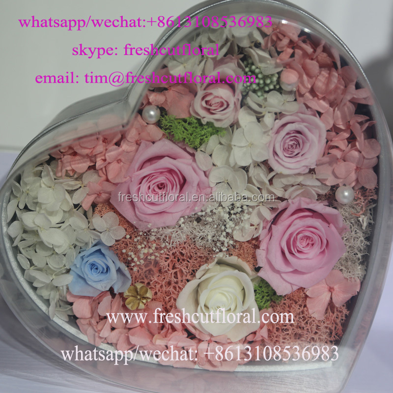 Online Shop Freshly Cut Preserved Roses Valentines Flowers Delivery For Gifts With Discount Price From Yunnan Flower Company