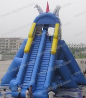 large dragon slide,children outdoor playground big slides for sale