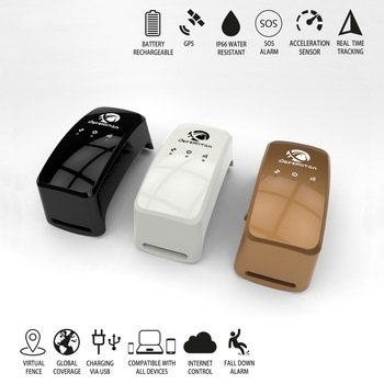 Remotely control small waterproof gps tracking device for pet